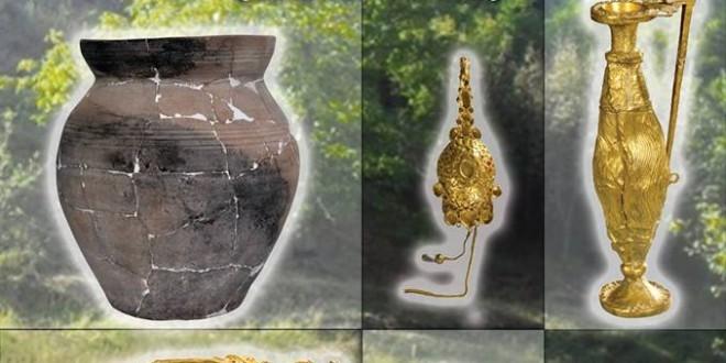 """Expoziţia """"Descoperiri arheologice la Curbura Carpaţilor (sec. IV d. Hr.)"""""""