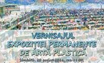Redeschiderea expoziției permanente de artă plastică modernă și contemporană