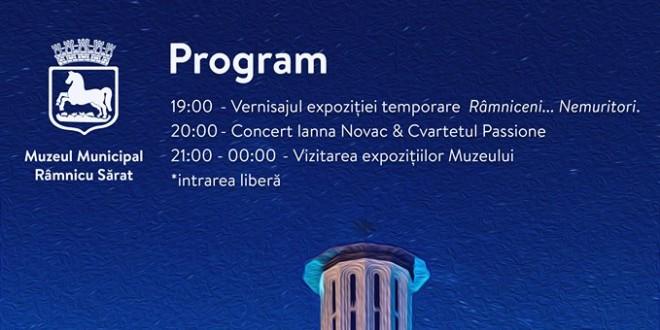 Noaptea Muzeelor 2018, la Râmnicu Sărat